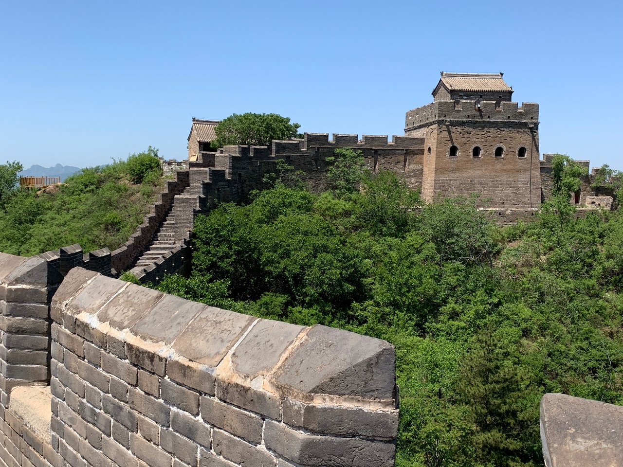 The Great Wall | Photo taken by Shiru H