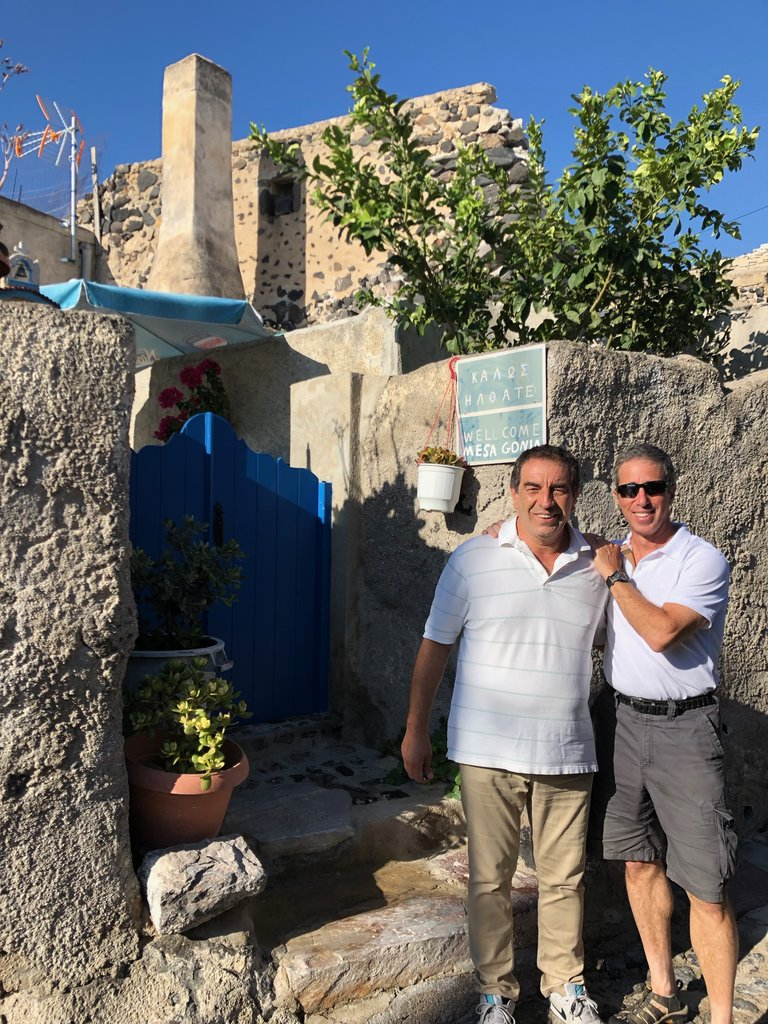 Tasos' grandfather's house (pre 1956) in Messa Gonia | Photo taken by Rebecca R