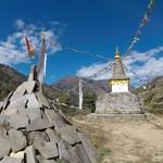 Stupa in Solu region | Photo taken by Max F