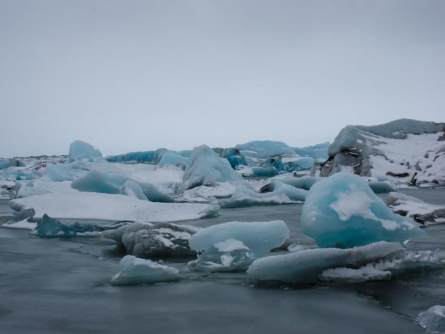 Glacier lagoon | Photo taken by Grace L