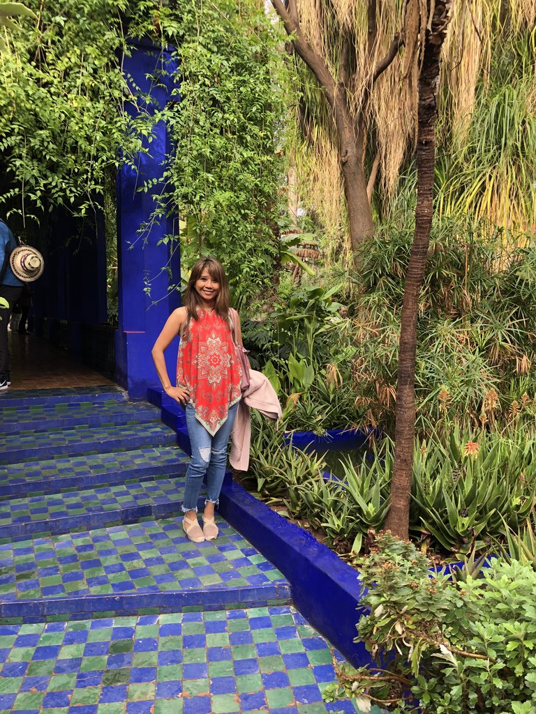 Majorelle garden    Photo taken by Filipinas C
