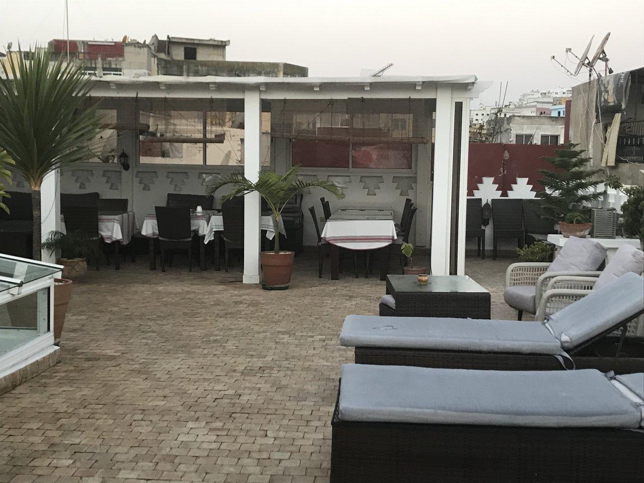 Car Souran terrace. Breakfast on the last day. | Photo taken by Chris M