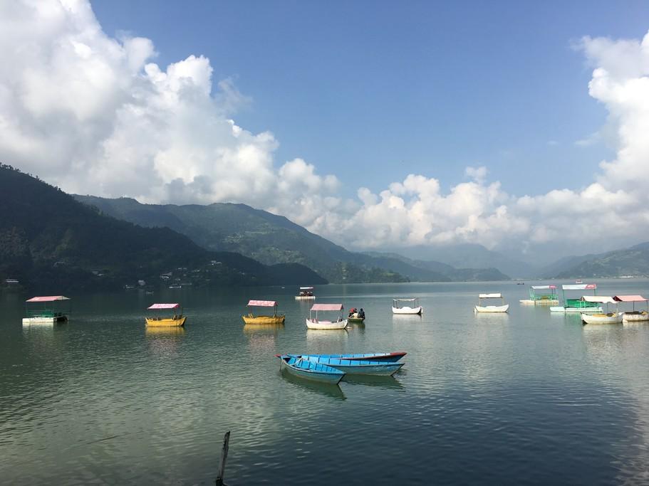 Pokhara lake | Photo taken by Federica M