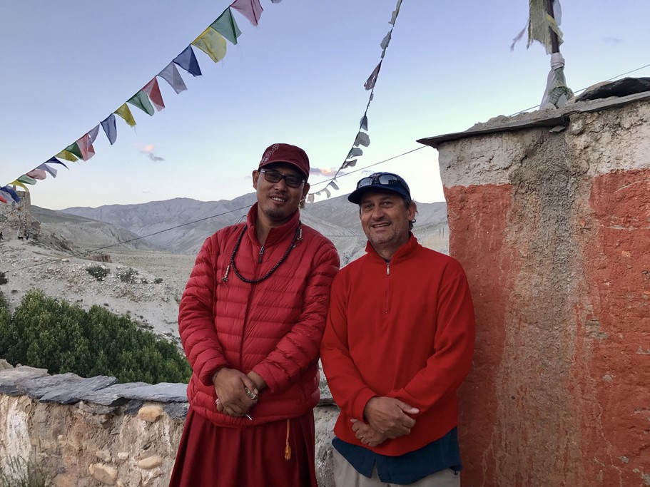 High Lama in Charang | Photo taken by Lisa D