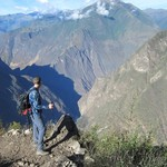 Day 4 - The most difficult leg of our trek, but by far the most rewarding. Look at that view! | Photo taken by Jennifer S