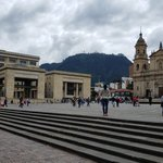 Plaza Bolívar, Bogotá | Photo taken by Rebecca H