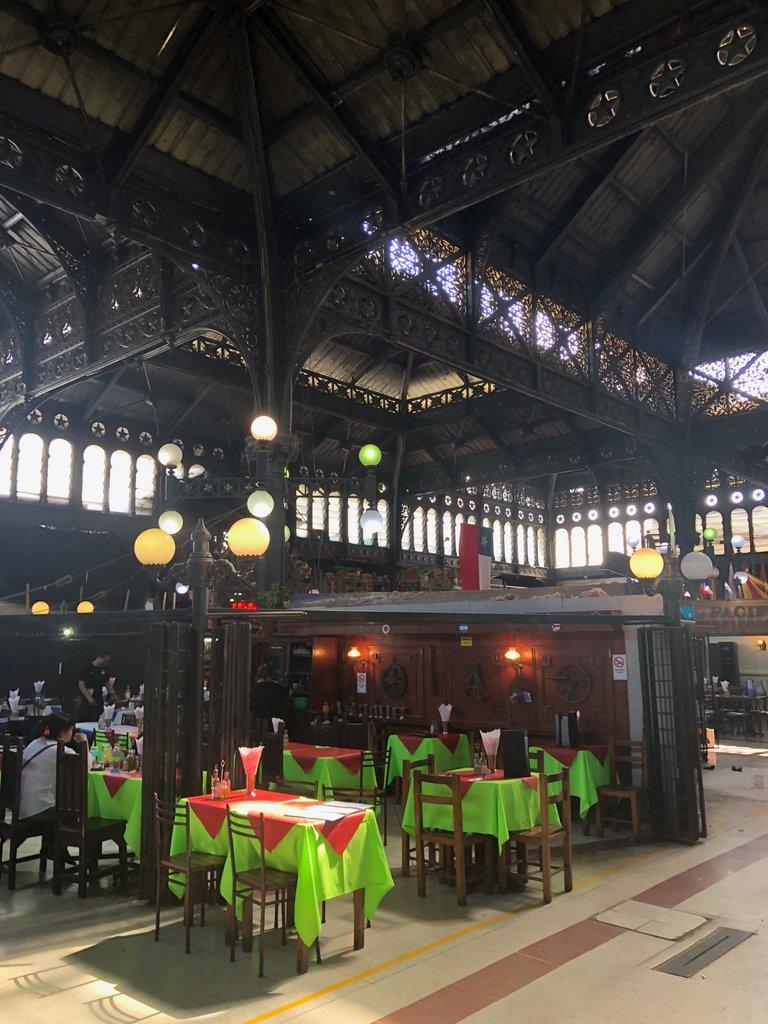 Mercado Central in Santiago | Photo taken by Melody B
