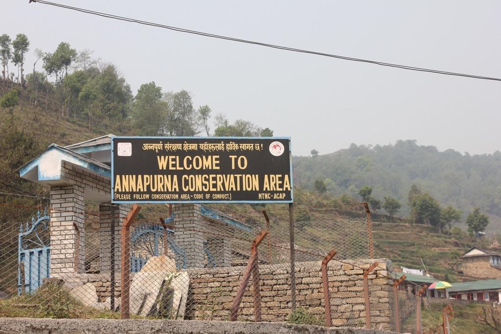 Starting the Ghandruk trek, April 2016 | Photo taken by Melinda B
