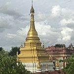 Beautiful Burmese pagodas | Photo taken by Cynthia C