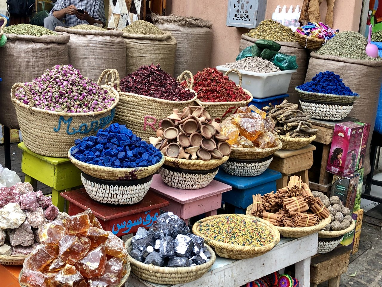 Somewhere else in a souk  | Photo taken by Alta P