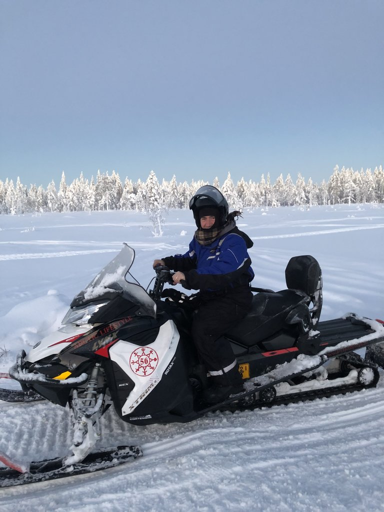 Snowmobile adventure! | Photo taken by Victoria M