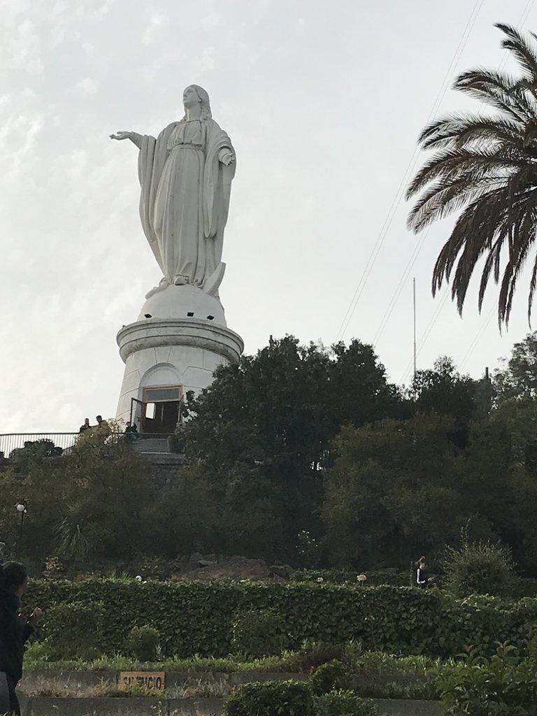 Cerro de San Cristobol....the virgin Mary   Photo taken by Lauri F