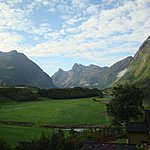 View of the gorgeous scenery leaving Andalsnes | Photo taken by Mark M