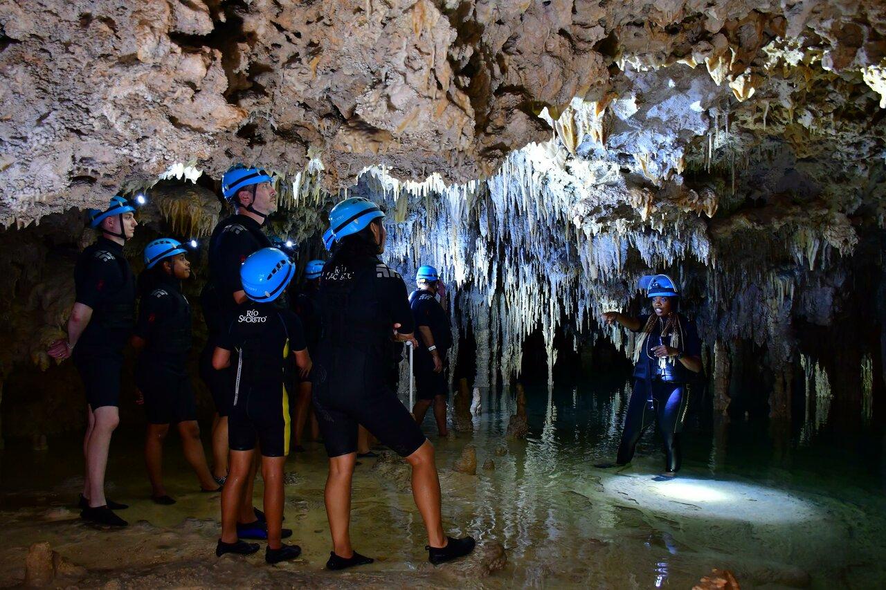Inside of a cave    Photo taken by Jazmin D