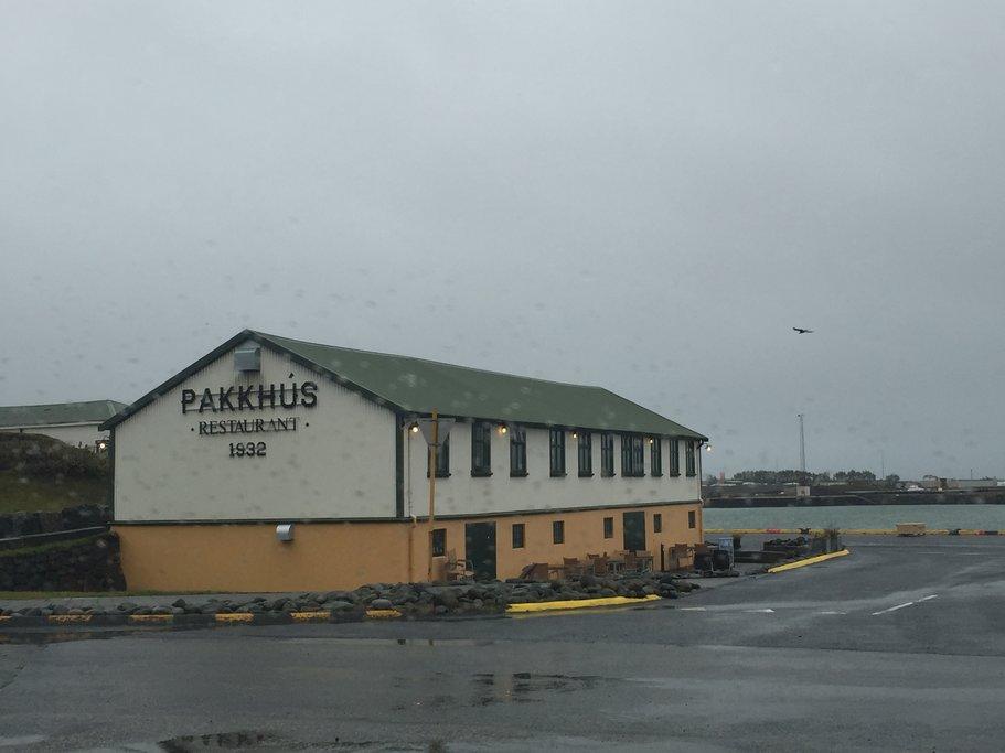 Pakkus Restaurant, Hofn   Photo taken by Marisa K
