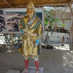 Depiction of the Lord of Sipan | Photo taken by Bev D
