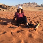 Wadi Rum | Photo taken by Lawrice S