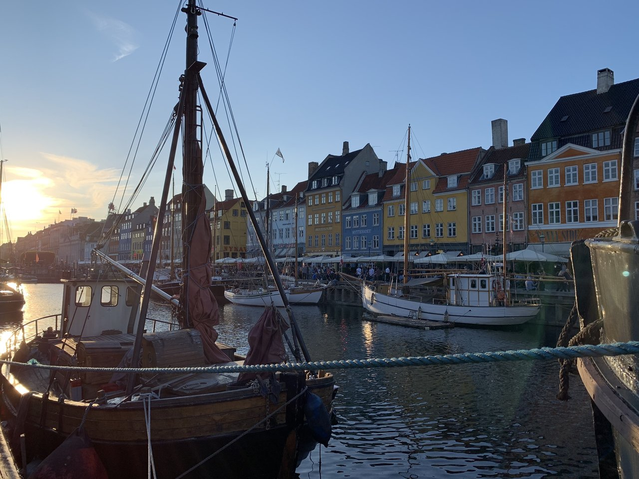 Nyhavn at Copenhagen | Photo taken by Michael W