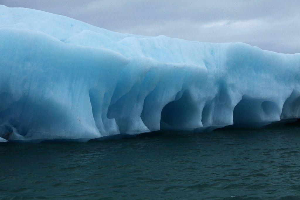 Iceberg in Jokulsarlon | Photo taken by Amol L