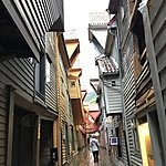 Bryggen wharf area in Bergen | Photo taken by Valerie M