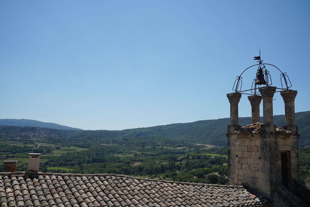The view above Lacoste.  | Photo taken by Richard L