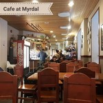 Cafe at Myrdal train station | Photo taken by Sally A