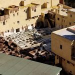 Tanneries at Fes | Photo taken by jaclyn m