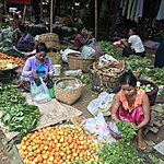 Colorful markets | Photo taken by Cynthia C