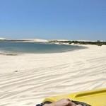 Jericoacoara beach. Beautful | Photo taken by Kalpesh S
