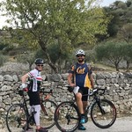 Cycling southern Modica region with Raffaele of Sicily Bike Routes.  | Photo taken by Teresa K