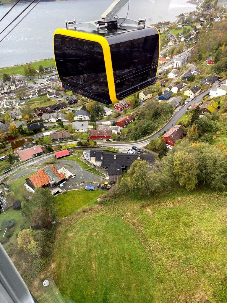 Gondola in Voss | Photo taken by Robin W