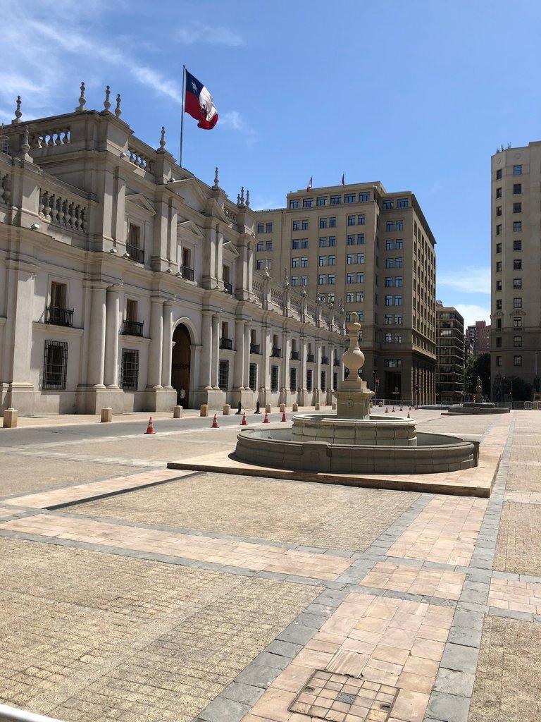 Plaza de la Constitucion in Santiago | Photo taken by Melody B