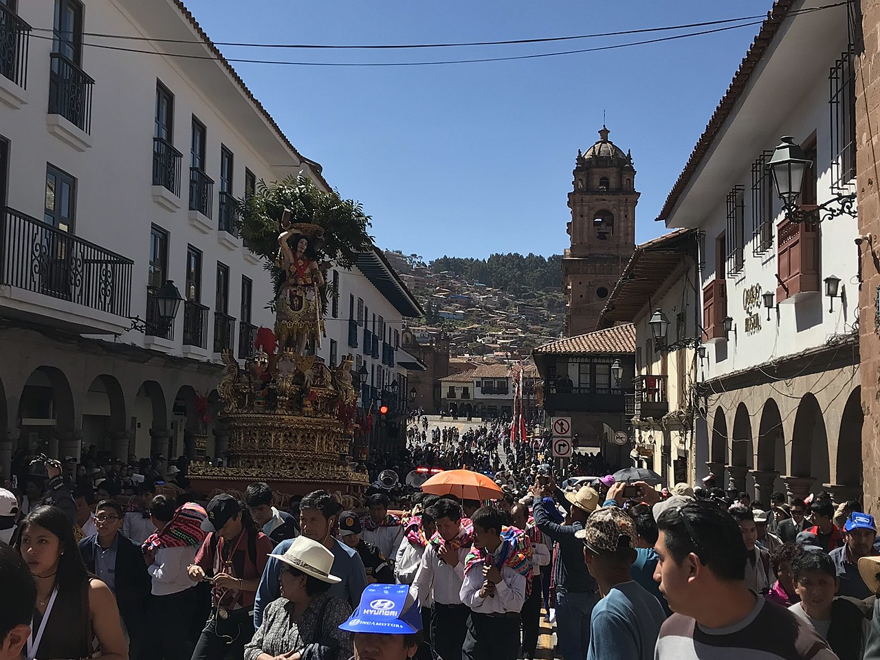 Festival Corpus Cristi, Cusco, Peru | Photo taken by Marianne H