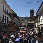 Festival Corpus Cristi, Cusco, Peru | Photo taken by Marianne H