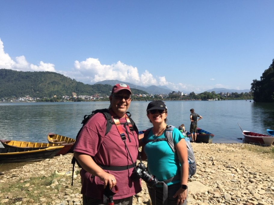 Trekking in Pokhara | Photo taken by Liz R