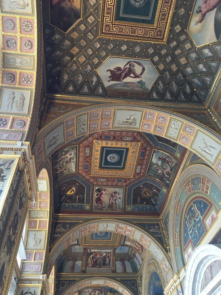 Fresco - Hermitage  | Photo taken by Diane P