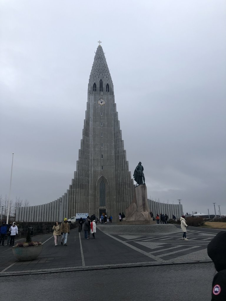 Hallgrimskirkja the tallest church  | Photo taken by Purvish P
