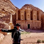 Backdoor hike/ Petra Monastery | Photo taken by Gerelyn G