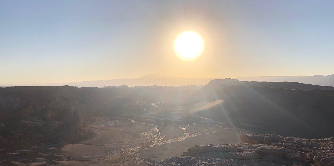 San Pedro de Atacama - Valley of the Moon Sunset | Photo taken by Melody B