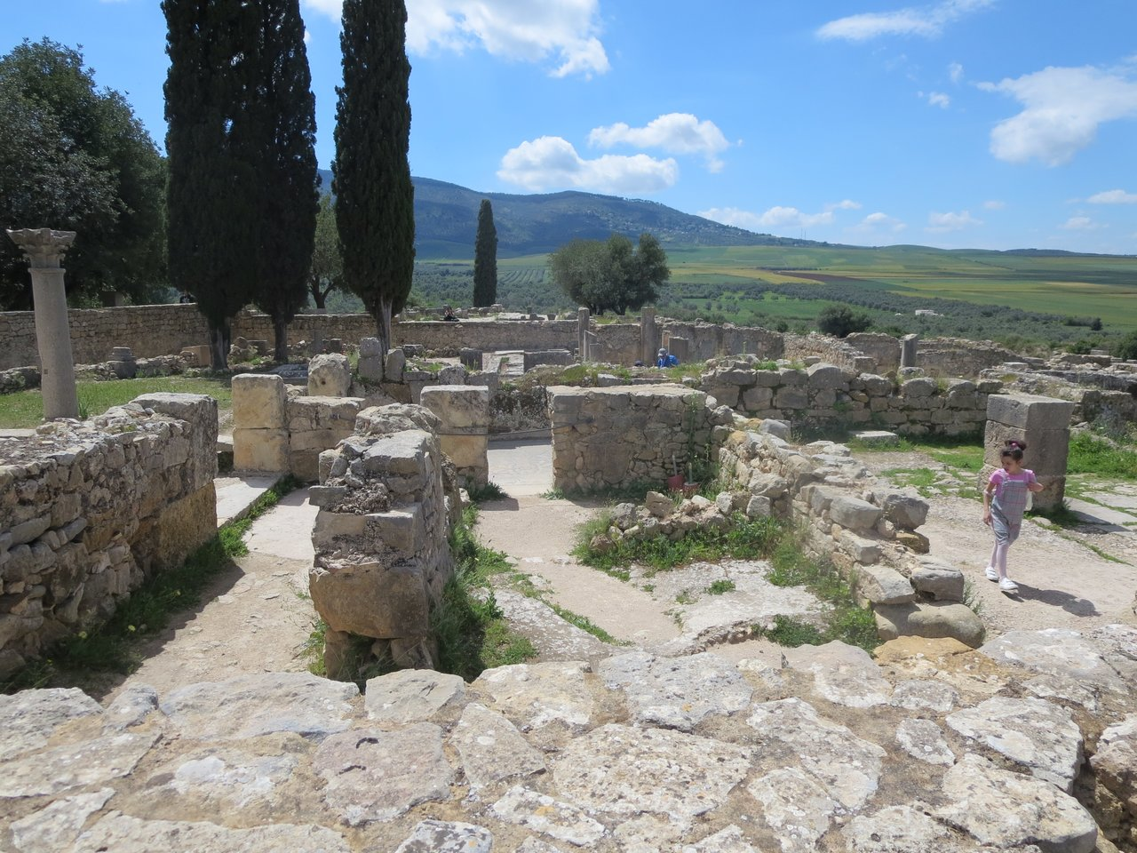 Roman City of Volubilis | Photo taken by Eileen S