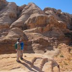 In an canyons south of Petra | Photo taken by Mark J