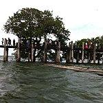 U Bein Bridge, Amarapura | Photo taken by Rodney S