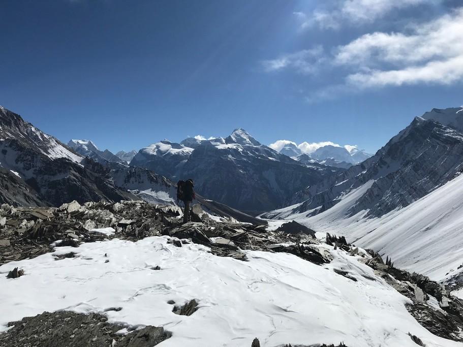 Approaching Kang La Pass | Photo taken by Anthony A