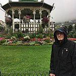 Bergen's beautiful park - in the rain! | Photo taken by Valerie M