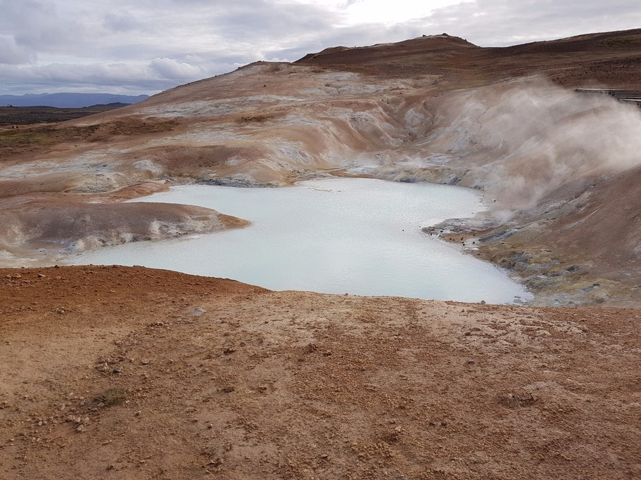 Mars? Lava formations near Lake Myvatn.   Photo taken by Mathew B