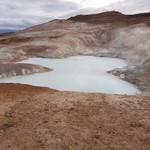 Mars? Lava formations near Lake Myvatn. | Photo taken by Mathew B