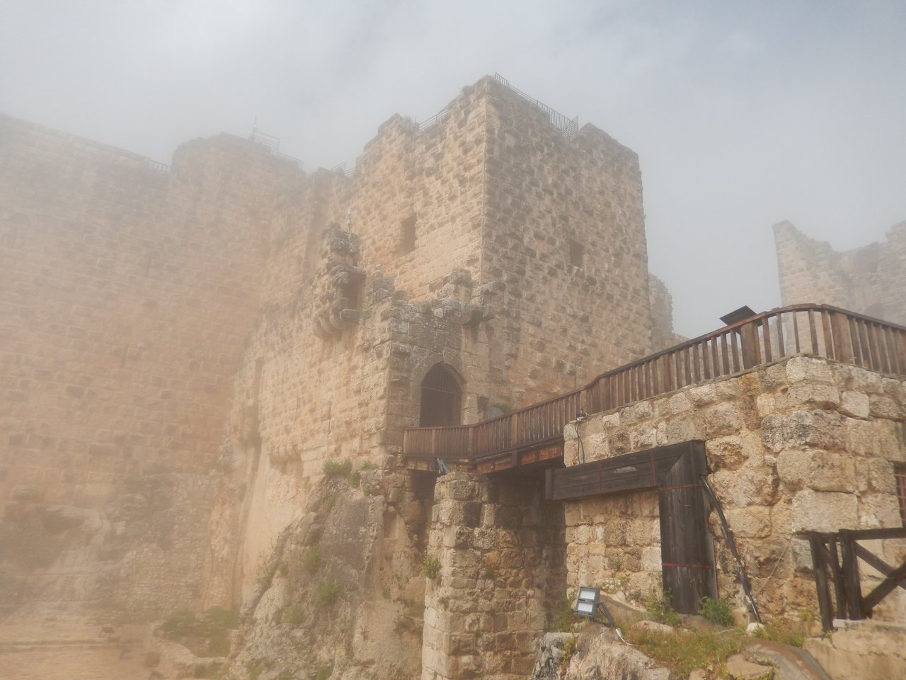 Ajloun Castle | Photo taken by Linley V
