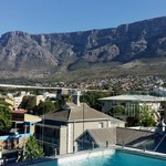 Table Mountain from The Cloud 9 rooftop bar | Photo taken by Nick F