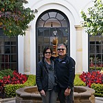 botero mueso courtyard | Photo taken by Janice B