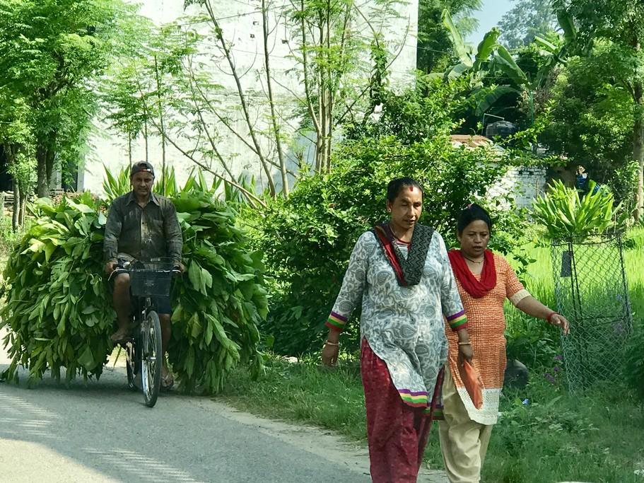 Village people, Terai | Photo taken by Lisa D